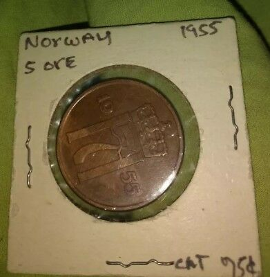 Norway 5  ore coin
