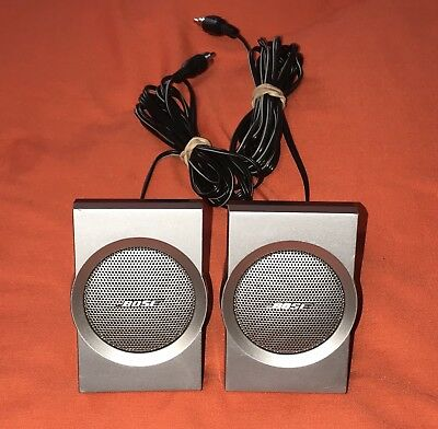 Bose Companion 3 Series 1 Multimedia Computer Speaker System Mini Speakers Only