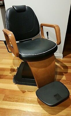 Barber Chair.  hairstylist chair. hairdresser even tattoo chair