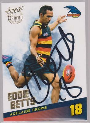 AFL Select 2017 Eddie Betts Signed Adelaide Crows Card