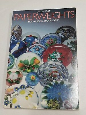COLLECTORS PAPERWEIGHTS PRICE GUIDE AND CATALOGUE BOOK By Lawrence H Selman 1983