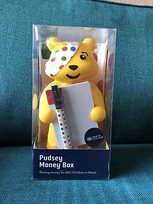 Pudsey Money Box - Bank Of Scotland