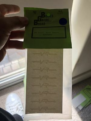 VR small open wagon emblems  decals RARE # 05
