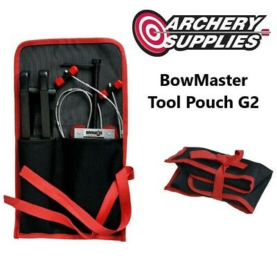 BOWMASTER Tool Pouch for Portable Compound Bow Press