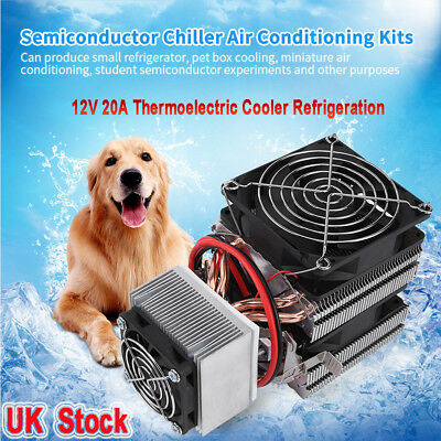 DC12V 20A Thermoelectric Cooler Refrigeration Cooling Device System Mini DIY