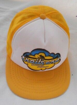Boy Scouts of America   Trails End Gourmet Popcorn  Cap yellow & white