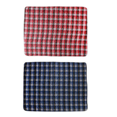 2x Washable Waterproof Incontinence Bed Seat Pad Protection Sheet Underpad