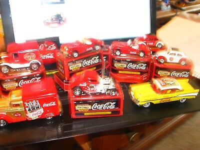 Lot Of Coca Cola Die Cast Collectables See Pic's