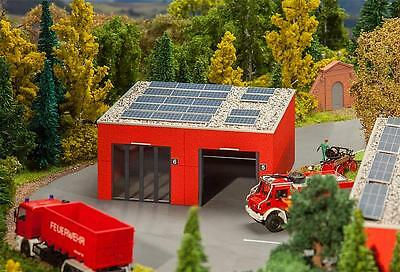 Faller Modern Fire Staion Appliance Hall 130161 HO Scale (suit OO also)