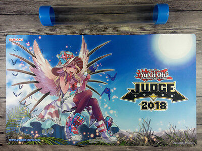 Yu-Gi-Oh! TCG Judge Playmat 2018 Vampire Sucker Playmat CCG Mat Free Best Tube