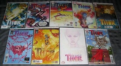 Death Of The Mighty Thor 700 701 702 703 704 705 706 Gates of Valhalla 1 NM 23