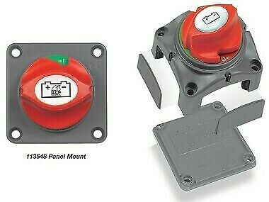 NEW BEP Contour Battery Master Switch -Panel Mount from Blue Bottle Marine