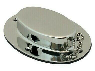 NEW Marine Town Oval Hawse Hole - Stainless Steel from Blue Bottle Marine