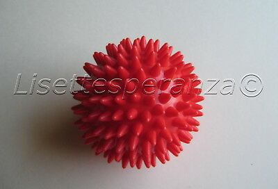 Spiky Massage Ball Red Physio Pain Rehab Trigger Point Physical Therapy