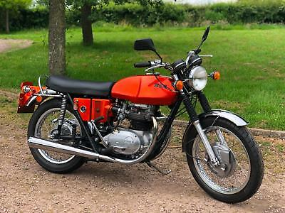 BSA Lightning 1972 750cc Devi Mead Conversion. Classic British Motorcycle!