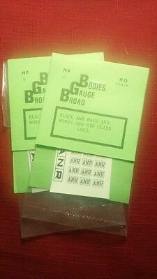ANR in boxes decals BLACK 830 ways & works 1 week only JUNE price reduction # 85
