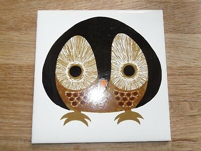 Kenneth Townsend owl tile