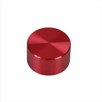 Red Potentiometer Volume Control Knob Rotary 30*17mm For 6mm FH