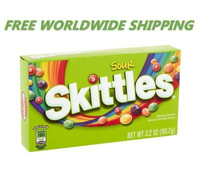 Skittles Sour Bite Size Candy 3.2 Oz FREE WORLDWIDE SHIPPING