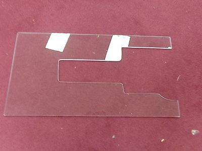 "#185 Horn Cabinet Acrylic White 9000 9800 Sewing Machine Insert 12-1/2""x24"""