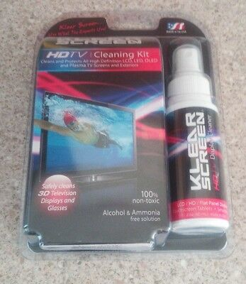 Klear Screen Cleaning Kit for TV, Laptops, mobiles, tablets. Brand new cleaner