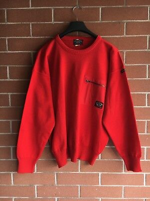 Rarissimo Maglione Felpa Paul And Shark Tg Medium Made In Italy Casual Style Vtg