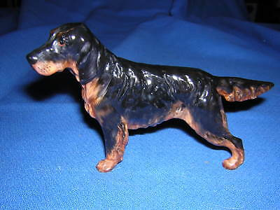 Royal Doulton GORDON SETTER Dog Figurine Small HN 1081