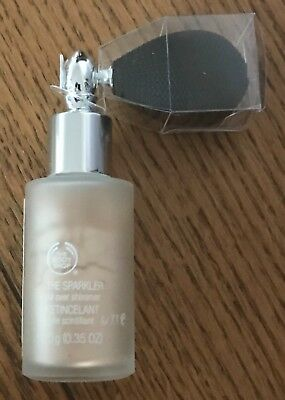 Brand New THE BODY SHOP THE SPARKLER ALL OVER SHIMMER 10g 02 VANILLA BRULEE