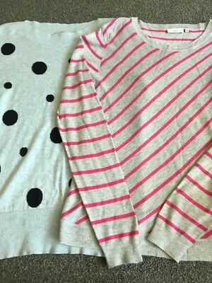 Bundle Womens Summer Jumpers Size 14 From New Look & Red Herring