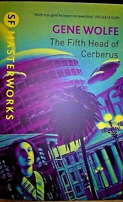 THE FIFTH HEAD OF CERBERUS by GENE WOLFE 2010 SF MASTERWORKS 'YELLOW' series Pbk