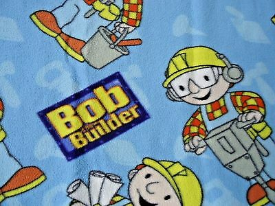 Bob the Builder Fleece Blanket Vintage