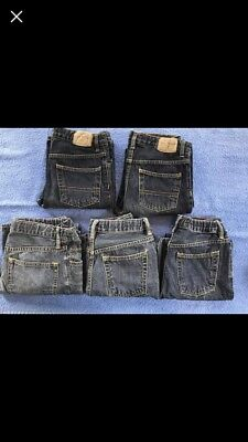 LOT boys Jeans Size 10 & 12 Gap and Children's Place