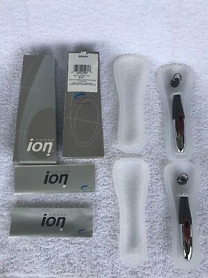 (2 Pens)Two CROSS ION GEL Ink Pen Rouge Saturn 812-7 New Old Stock NEW refill