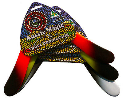 Boomerang Sport Aussie Magic GREAT SUMMER GIFT FOR TEENAGE BOYS! Free Postage AU