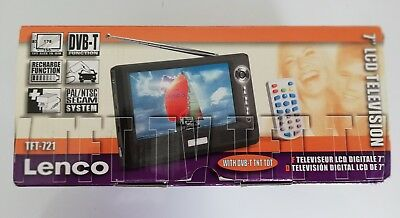 "Lenco 7"" portable TV"