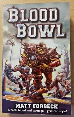 Blood Bowl by Matt Forbeck (Black Library Publications)