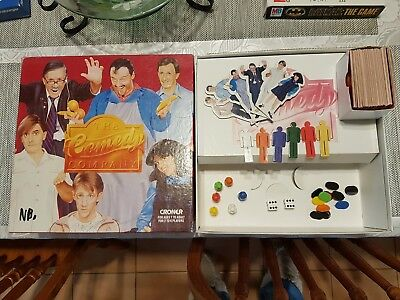 The Comedy Company Boardgame By Croner 1988