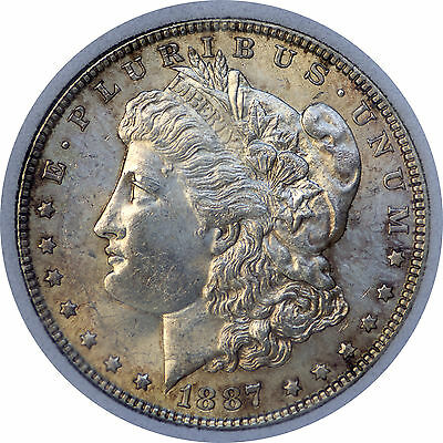 1887-P Morgan dollar United States Silver Dollar $1