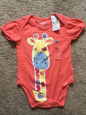 NWT Infant Girls One Piece CHILDRENS PLACE Top Size 6-9 Mths GIRAFFE