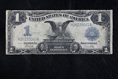 $1 1899 Black Eagle Large silver certificate H26235047A Fr#235 FREE SHIPPING