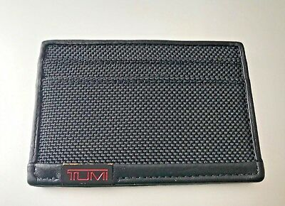 TUMI Alpha ID Lock™ Slim Card Case | Black | 113155DO
