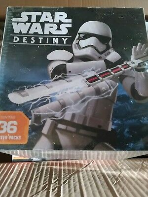 Star Wars Destiny - Spirit of Rebellion Booster Box (36ct) Factory Sealed