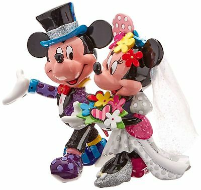 NEW Official Disney Figurine Mickey & Minnie Mouse Wedding Gift Idea Collectable