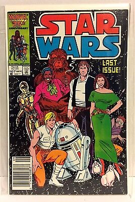 Star Wars Marvel #107 (first series) Final Issue Low Print Run