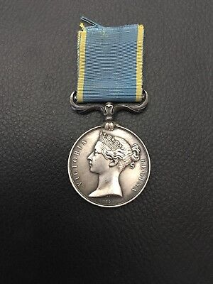 Stunning Crimea Medal Unnamed As Issued......Lovely!