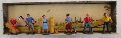 MERTEN 902 Party of 6 Harvest Workers  (Boxed)                            [5981]