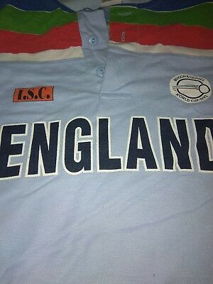 england isc benson and hedges world cup 1992 official top xl