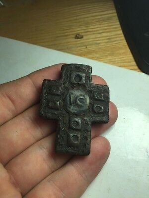 Byzantine-Bone-Christian-Cross-Pendant     3