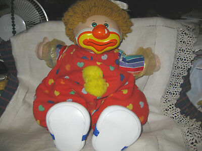 25Th Anniversary Cabbage Patch Kids Doll- Cpk -In Clown Outfit