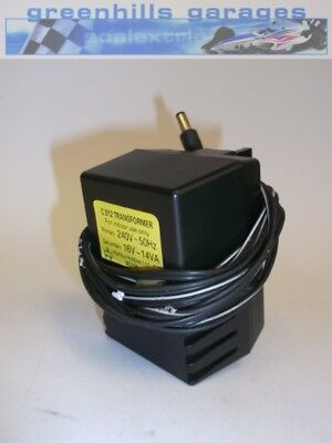 Greenhills Scalextric Hornby Transformer Power Adapter C912 16V - Used - MACC...